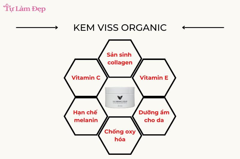 Kem dưỡng ẩm Viss Organic