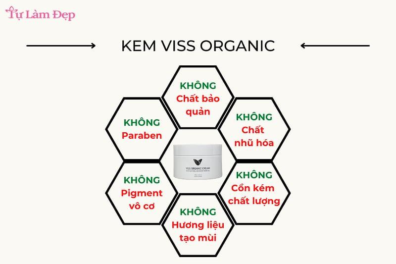 Kem hắc mai biển Viss Organic