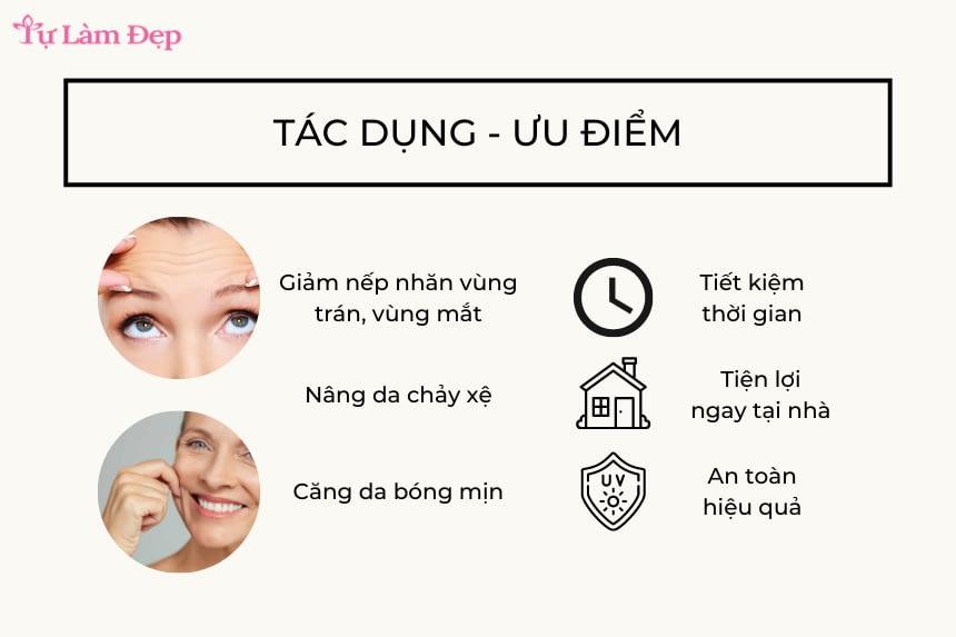 Tác dụng của máy nâng cơ da mặt là gì?