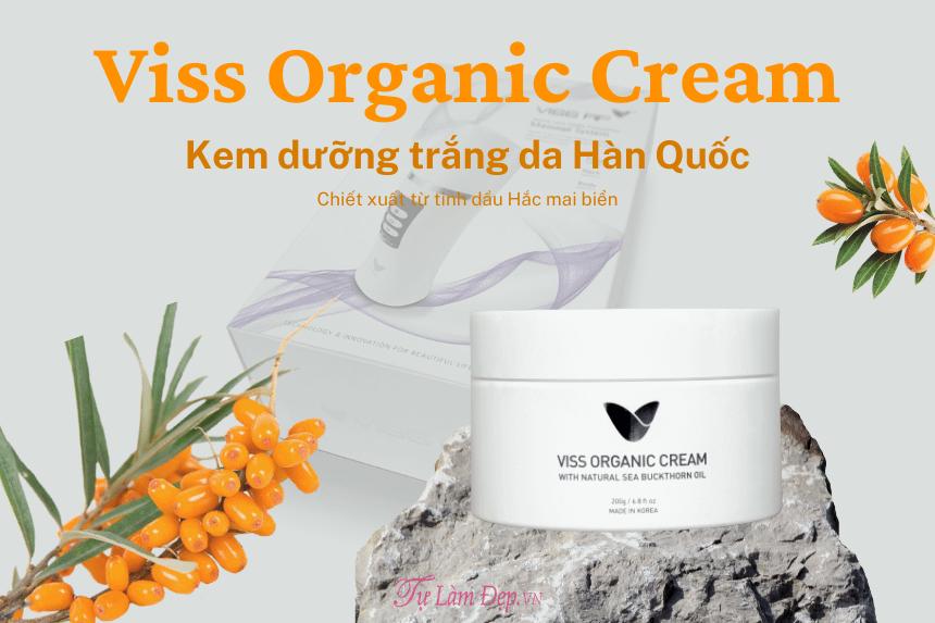 Kem dưỡng trắng da Viss Organic Hàn Quốc