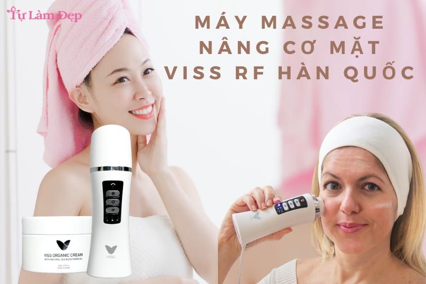 Máy massage nâng cơ mặt Viss RF Hàn Quốc